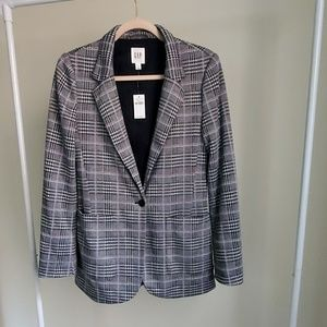 Gap plaid check  pattern  Blazer